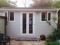 Modern garden cabins