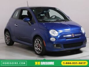 2012 Fiat 500 Sport AUTO A/C CUIR TOIT BLUETOOTH MAGS