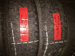 2 USED AVALANCHE EXTREME WINTER TIRES 225/65/18