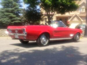 Mustang convertible 1968