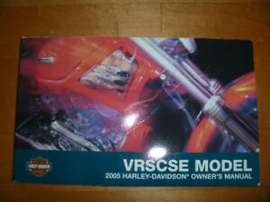 HARLEY VRSC VROD OWNER'S MANUAL