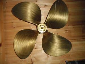 "Hawboldt 4-four-bladed Bronze Prop. 26 X 24"" ; RH"