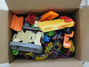 """Full Box (10x8x8"""") of Small Building Bricks and Plates"""