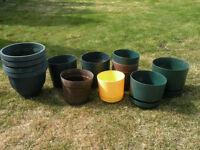23 Large Plant Pots