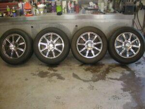 Mags Chrysler 300 avec pneux Michelin