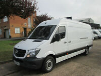2013 63-REG Mercedes-Benz Sprinter 313CDI LWB NEW SHAPE. LOW 56,000 MILES.