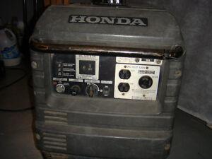 Honda Eu 3000 Is Generator  PLEASE READ THE FULL AD Strathcona County Edmonton Area image 2