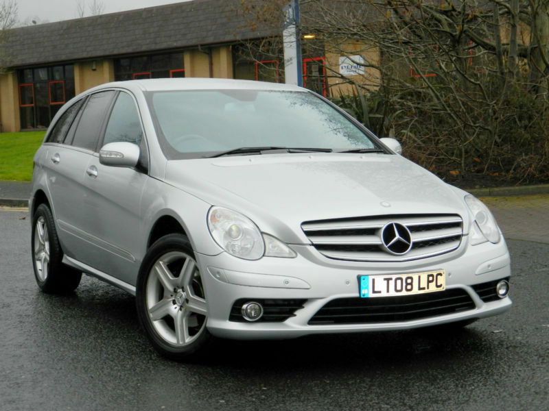 2008 08 mercedes benz r class 3 0 r320 cdi sport 7g tronic for Mercedes benz r320 cdi