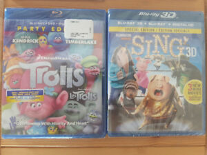 Movies- Trolls and Sing