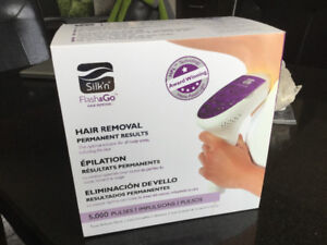 Flash and go hair removal silk'n