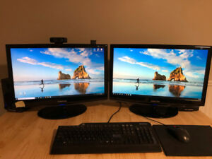"23"" Samsung Computer Monitors (TWO)"