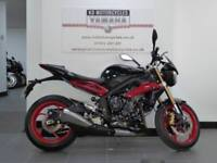 16 REG TRIUMPH STREET TRIPLE 675 RX ABS 1 PREV OWNER FULL HISTORY LOW MILES