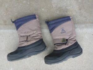 Kamik size 4 children's winter boots