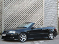 2005/55 SAAB 9-3 2.8 TURBO V6 CONVERTIBLE AUTOMATIC - TIME TO GO TOPLESS !!