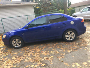 2008 Mitsubishi Lancer AS IS