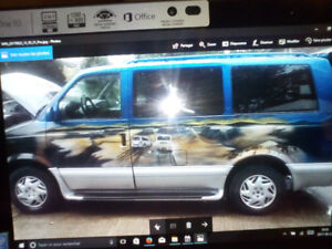 2002 Chevy Astro 8 Pers. AWD Full Équip.