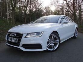 2011 61 Audi A7 3.0TDI (204ps) Sportback Multitronic S Line..1 OWNER..F.S.H.