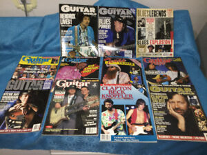 Vintage Guitar Player Magazines SRV Hendrix Clapton ZZ Top