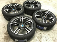 """18"""" Staggered Wheels & Tires (BMW 3 Series cars)"""