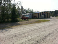 Steel Building and Acreage in Tourist Country