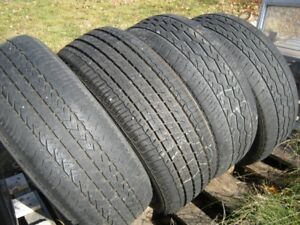 4 Winter Tires Firestone 215-55r17 Good Condition