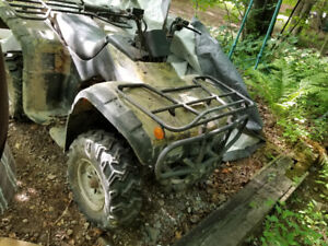 Baja wilderness 250 cc 2wd ATV + parts