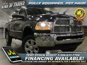 2014 Ram 3500 Laramie 6.7L | Leather | PST PAID!