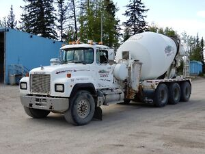 Tri-Drive Mack Mixer For Sale