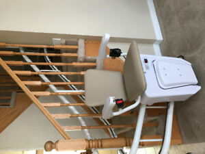 Stair lift - 95% new curved for sale