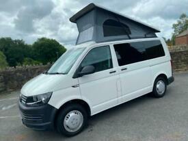 Volkswagen Transporter Campervan with Pop Roof 4 Berth VW
