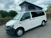 Volkswagen Transporter Campervan with Pop Roof 4 Berth VW
