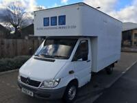 7e5f897612 MERCEDES SPRINTER 313 2.2 CDI (2005 05) LWB 17FT LUTON (1 OWNER LOW
