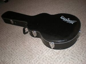 Washburn Hollow Body Guitar Molded Hardshell Case NOS