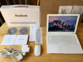 *UK Version* A1342 Apple MacBook Mid 2010 2.4GHz 750GB HDD *Good Working Order*