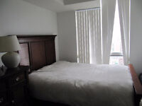 Solid Wood Queen-sized Bedroom Set - GREAT CONDITION!