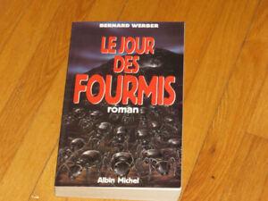BERNARD WERBER/ LE JOUR DES FOURMIS /littérature