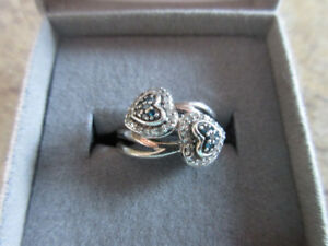 Ladies Sterling Silver Ring