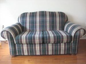 Matching Loveseat & Chair Set. Very Good Condition.