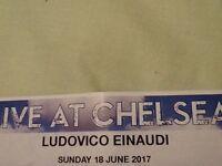 Lucovico Einaudi tickets @ Chelsea, Sunday 18 June