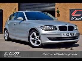 BMW 1 Series 2.0 118D SE 5DR 2007 + FULL HISTORY + WARRANTY + 12 MONTHS MOT