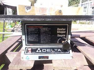 Delta Portable Router , Shaper......