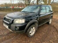 2006 Land Rover Freelander SPARES AND REPAIRS ONLY 2.0 Td4 Adventurer Station Wa