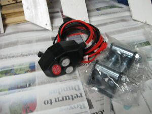 remote handle bar swich for atv winch