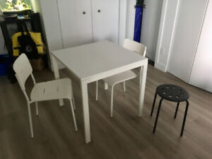 Table + chairs IKEA