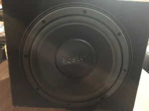 Boston Acoustics Pro Series Car Subwoofer in Sealed Box