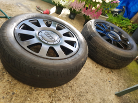 Audi 205 55 zr16 alloys and tyres