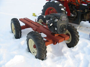 Articulating tractor project with new 25 HP Kohler motor