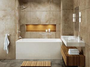 "MIROLIN ADORA 60"" x 32"" Bathtub + FREE DELIVERY"