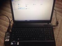 Toshiba satellite c650 - 110 laptop