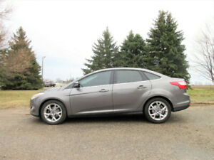 2012 Ford Focus SEL Sedan- ONE OWNER SINCE NEW!!  CERTIFIED